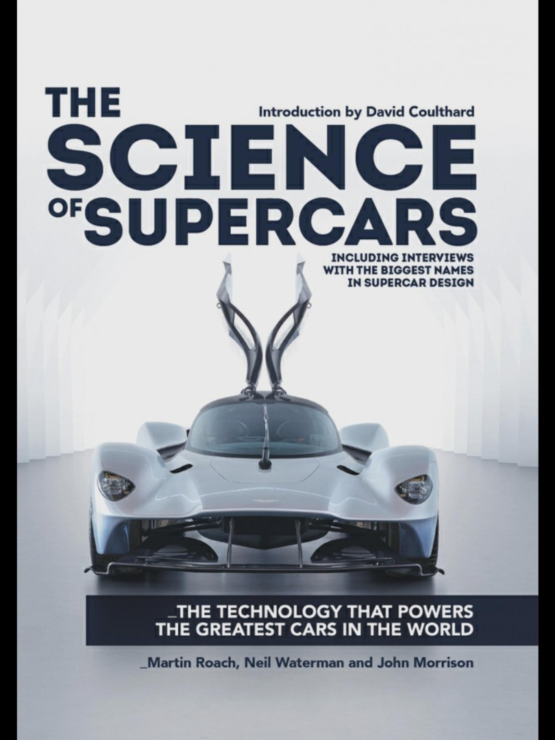 The Science behind Making Supercars ... a new book on the past, present and future of this unique industry