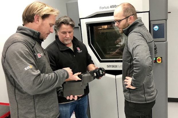 Andretti Autosport and Stratasys and additive manufacturing