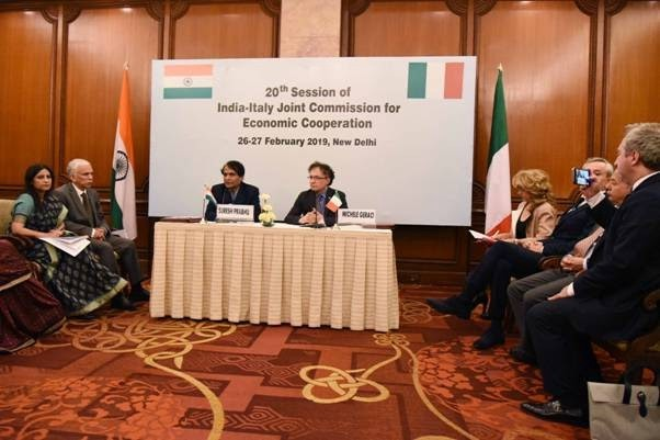 India - Italy joint commission renewed